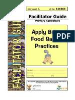 Training Facilitators' guide