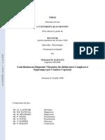 Contribution Au Diagnostic Vibratoire De