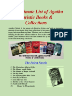 The Ultimate List of Agatha Christie Books