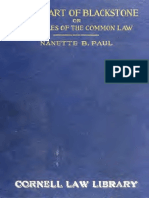 The Heart of Blackstone_principles of Common Law