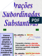 9º ano Port. Aula 03. Oracões subordinadas substantivas.ppt