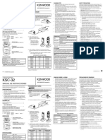 KSC-32 charger user manual B62-2229-30