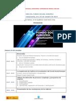 PROGRAMA IV FORO FSE-Santiago de Compostela