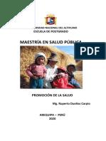 MODULO PROMOCIÓN DE LA SALUD