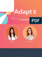 Adapt 2020_ Retaining Customers During Difficult Times