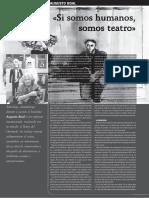 28_MA2_BOAL_Si somos humanos somos teatro_Revista Picadero