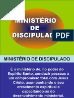 MINISTÉRIO DE DISCIPULADO