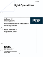 Shuttle Flight Operations Manual Vol 12 Crew Systems