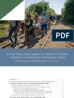 Ficha técnica sobre el derecho a la libertad de circulación