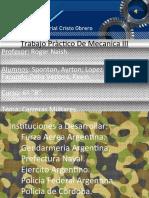 Trabajo Pràctico - Fuerza Aérea Argentina
