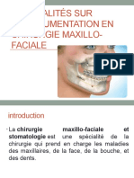 Généralités sur l'instrumentation en chirurgie maxillo-faciale
