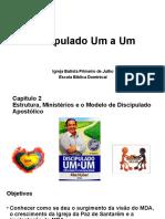 Estrutura, ministérios e o modelo do discipulado apostólico