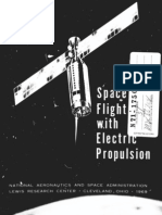 Space Flight With Electric Propulsion