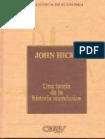 Una teoría de La Historia Económica - John Hicks
