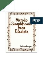 Método Simplificado para Escaleta