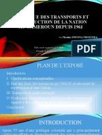 Politique des transports et construction de la Nation.pptx