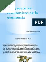 Los 5 sectores económicos de la economía