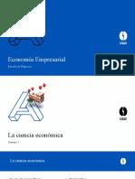 Semana 1 la ciencia economica