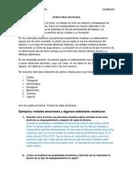 REPORTE 2 ESTRUCTURAS CRISTALINAS