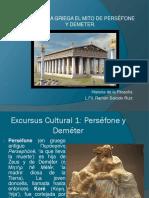 Mito de Demeter y Perséfone (Lic. Filosofía Ramón Salcido)