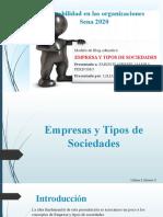 Blogger    Empresas y Tipos de Sociedades.pptx