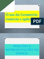 GEOMETRIA ESPACIAL - CONCEITOS PRIMITIVOS