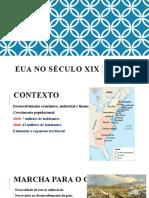 EUA NO SÉCULO XIX