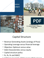 3. Capital structure