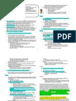 Chapter XVI-XVII Dissolution Combinations
