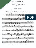 Brahms - Serenade nr.2 Op.16 in LA Magg. ottavino