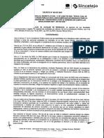 Decreto 424-cierre del Nuevo Mercado-19/06/2020