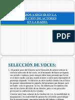 10 PASOS A SEGUIR EN LA  DIRECCIÓN DE ACTORES..pptx