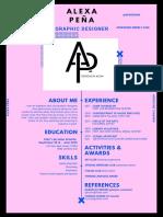 copy of resume 4 - creative