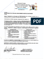 SEGUNDA Y TERCERA ETAPA PROYECTO RETABLO CATEDRAL MAYO  2016