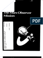 The Mars Observer Mission