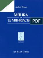 Turcan Robert - Mithra Et Le Mithriacisme-Les Belles Lettres (2000)