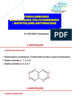 HYDROCARBURES BENZENIQUES POLYCONDENSES
