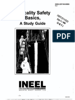 CRITICALITY SAFETY BASICS