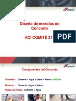 Diseno de Mezclas de Concreto ACI CEMEX
