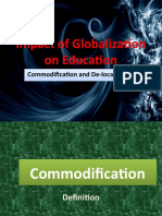 Impact of Globalization on Education