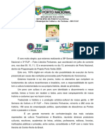 APRESENTAÇÃO Flip - Porto Nacional 2020