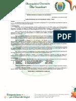 Resolucion - reconocimiento de la junta directiva PVL