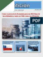 PROYECCION MACROECONOMICA PARA CHILE AÑO 2021