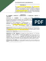 Modelo de Estatuto_Club Deportivo.-2019-1-