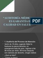 Auditoría Médica (1) Tema 4