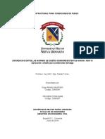 DIFERENCIAS NSR 98-10 CONDICIONES  FUEGO