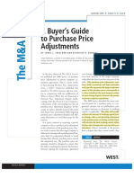 Article_MALv13_%238_FREELAND - 2009 a Buyer's Guide to Purchase Price Adjustments