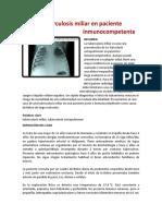 Tuberculosis miliar usfx
