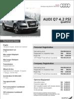 Audi Price List