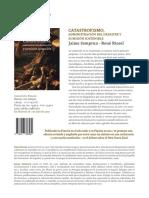 Ficha comercial del libro Catastrofismo
